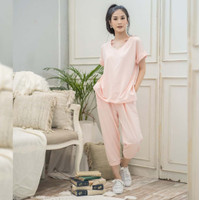 Weekend Set Beatrice Clothing - Pakain Setelan Wanita