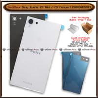 BackDoor Tutup Casing Belakang Sony Xperia Z5 Mini Compact E5803 E5823 - Dark Grey