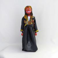 Cepot Wooden Puppet (Wayang Golek Cepot)