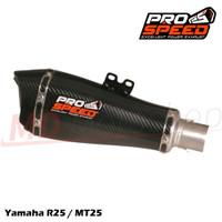 Knalpot Prospeed Predator Titanium Yamaha R25 / MT25