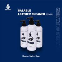 Leather cleaner Salable pembersih sepatu tas topi ber bahan kulit