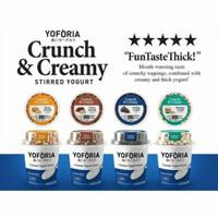 Yoforia Crunch & Creamy Yoghurt Yogurt 90 gr
