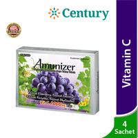 Amunizer Vitamin C Zinc 4 Sachet / Daya Tahan Tubuh / Suplemen