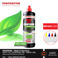 Menzerna Heavy Cut Compound 400 Green Line - VOC Free - REPACK 100ml