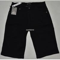 Celana Jeans Pria NEVADA Pendek Hitam CG17 ORIGINAL & REAL PICTURE