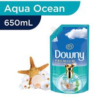 DOWNY Premium Parfum Aqua Ocean pelembut & pewangi pakaian konsentrat