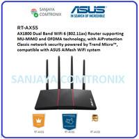 ASUS RT-AX55U AX1800 Dual Band WiFi 6 Router MU-MIMO OFDMA