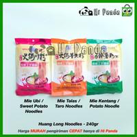Huang Long Mie Ubi Kentang Talas - Sweet Potato Taro Hotpot Noodle