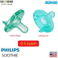 Philips Soothie 0-3m Single Hospital Pack Avent Pacifier Empeng
