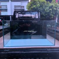 aquarium 100x50x50 Rimless gosok halus