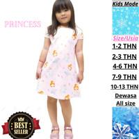 Dress Anak Perempuan Baju Anak Putri Wanita elsa Anna Princess Murah