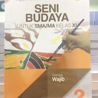 Buku Seni Budaya kelas 11 penerbit erlangga kurikulum 2013 revisi