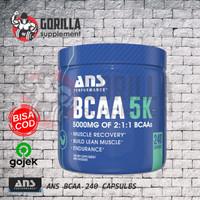 ANS BCAA 5K 240 kapsul Caps Capsule 5 K