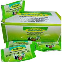 Wormzol-B - obat cacing ternak sapi,kerbau,babi (1 box isi 24 bolus)