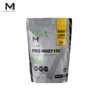 Muscle First Pro Whey 100 2lbs Whey Protein 900gr 25 Serving