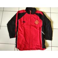 Jaket/Jacket Manchester United/MU merah hitam Original