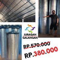 Aluminium Foil Bubble Peredam Panas Atap Rumah - Gudang - Ruko Murah