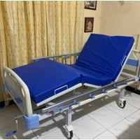 Bed pasien 2 ENGKOL ABS tempat tidur rumah sakit