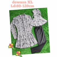 Size XL SUPER SALE BAJU RENANG MUSLIM REMAJA & DEWASA