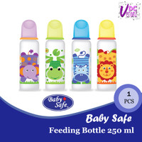 BABY SAFE Botol Susu Bayi 250 ml - Dot Orthodontic