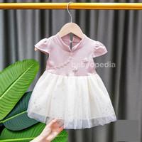 Cheongsam Dress Baby Anak Perempuan / Dress Imlek Anak /Baju Perempua