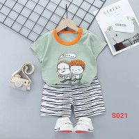 baju setelan anak import S021 - S025
