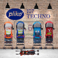 Stroller Buggy Pliko 107 Techno / Kereta Dorong Bayi