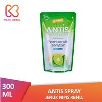 Antis Spray Jeruk Nipis Refill 300 ML - Hand Sanitizer Spray