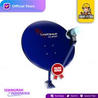 Paket Lengkap Antena Parabola Mini Gardiner KU-45cm Go Sport Komplit