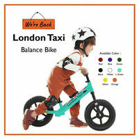 London Taxi - Balance Bike / Push Bike / Kick Bike