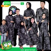 baju batik couple keluarga sarimbit ayah ibu dan anak termurah 08