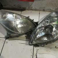 headlamp head lamp lamp depan nissan grand livina 2010 kanan kiri ori