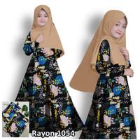 Baju Gamis anak Perempuan Syari Kezia Odi Fashion Muslim Anak Gamis