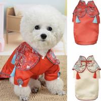 Baju cheongsam anjing kucing untuk imlek sincia CNY premium