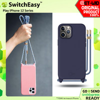 Case iPhone 12 Pro Max / 12 Mini / 12 Pro SwitchEasy Play Lanyard - iPhone12ProMax, Putih