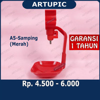 Nipple Nipel Nepel A5-SAMPING MERAH Artupic ayam broiler pedaging