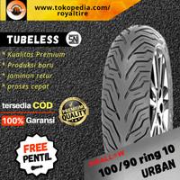 Ban luar motor vespa 100/90 ring 10 classic klasik tubles swallow