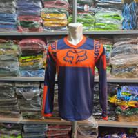 jersey kaos baju sepeda balap gunung cross premium tangan panjang