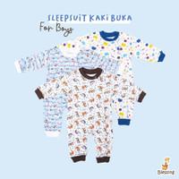 Baju bayi-Sleepingsuit-Blessing Babywears-0-3 bulan-boys
