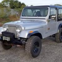 Jeep CJ7 Peredam Pintu Mobil