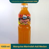 Sirup Markisa Asli Brastagi Medan - 1000 ml (100% Gula Murni)