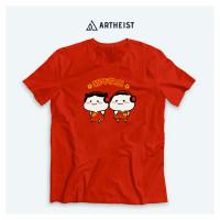 Artheist - Kaos / T-Shirt Imlek Chinese New Year Pentol Couple Joget - S-XL LOKAL