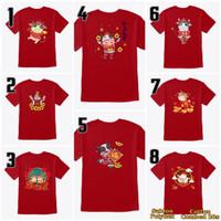 Baju Kaos Imlek 2021 Kerbau Anak-Dewasa