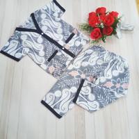 baju tidur batik anak umur dua tahunan sampai tiga tahun cowo cewe