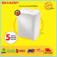 Mesin Cuci 2 Tabung Sharp T 65/68 M - Promo Murah