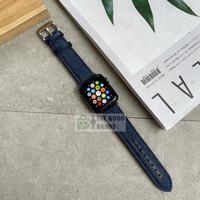 Strap Apple Watch Series SE 6 5 4 3 2 1 JEANS BLUE Tali band 38mm 40mm