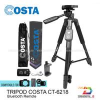 TRIPOD COSTA CT-6218 Bluetooth Remote Handphone,Kamera With Holder XL