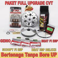 Full Upgrade CVT BeaT Fi ESP Scoopy Fi ESP Genio Mangkok Ganda BeaT Fi - BeaT ESP