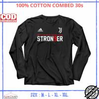 Kaos Bola Lengan Panjang Stron9er Juventus Stronger High Premium