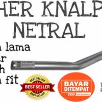 Leher knalpot universal standar motor Supra lama & Astrea Grand